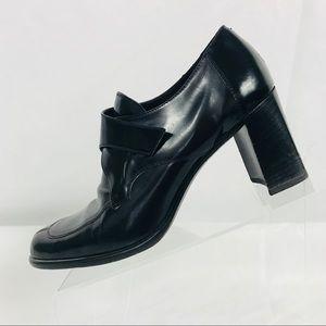 COACH Patrice Black Leather Shoes Pumps Heels